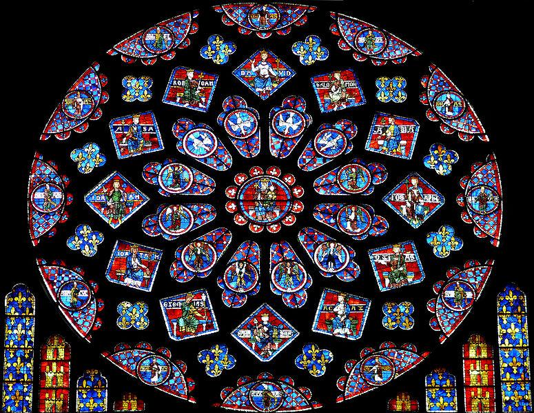 Chartres_-_Rose_du_transept_Nord_-2