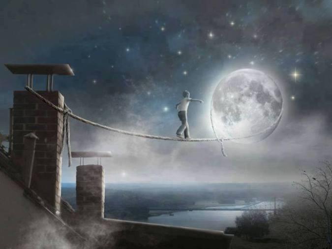 Marcher vers la lune