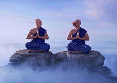 Deux moines un rire