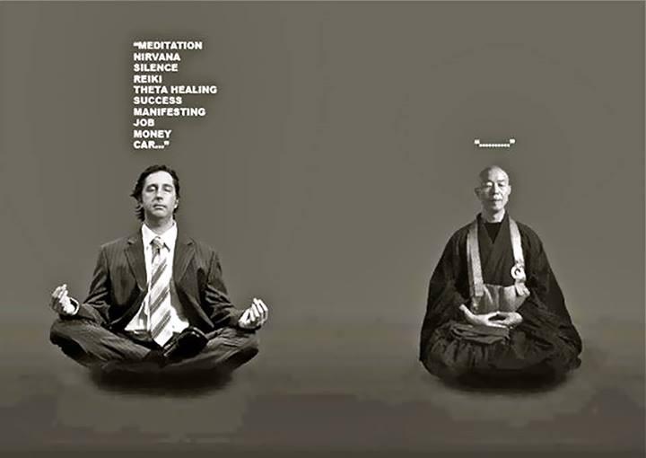 Deux visions de la méditation