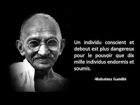 Gandhi citation