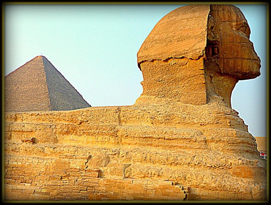 Guizèh. Le Sphinx.