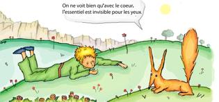 Petit prince et le renard dandanjean - Coloriage renard petit prince ...