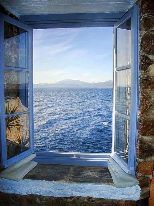 Grèce la mer