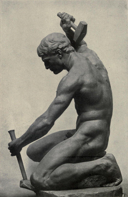 Charles_Henry_Niehaus_-_sculpteur_agenouillé