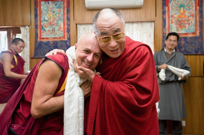 Ricard et Dali lama