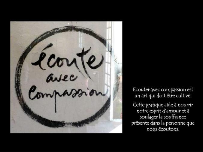 écoute compassion,