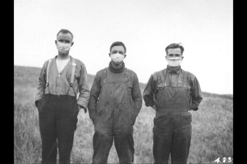 masque grippe espagnole